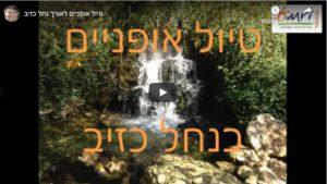 סרטון טיול אופניים בנחל כזיב