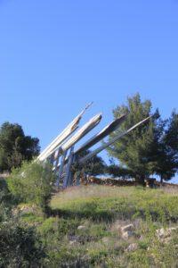 אנדרטה בבאב אל וואד