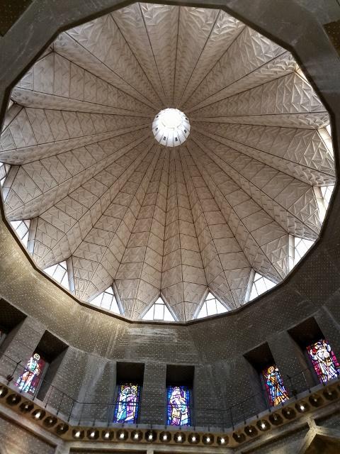 גג כנסיית הבשורה בנצרת