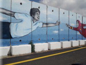 קירות מדברים - גרפיטי על חומת הגבול