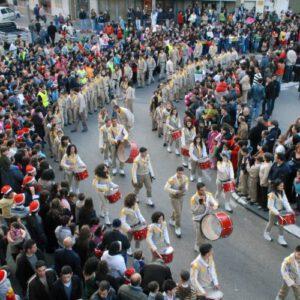 תהלוכת נוער ומצעד לקראת כריסמס