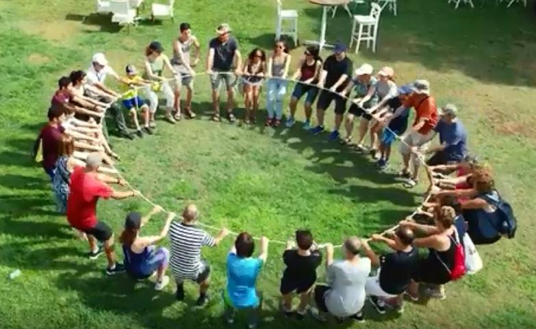 משימה קבוצתית במעגל אקשן רייס עכו