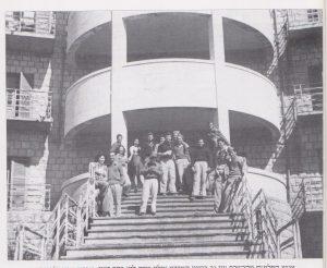 חיילי הגדוד השלישי במלון שרה לוי