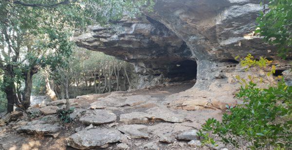 מערה בפארק הסלעים
